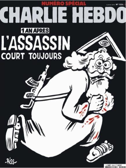 Charlie Hebdo - Der Möder ist immer noch auf freiem Fuß